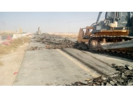 Completing some roads in Riyadh
